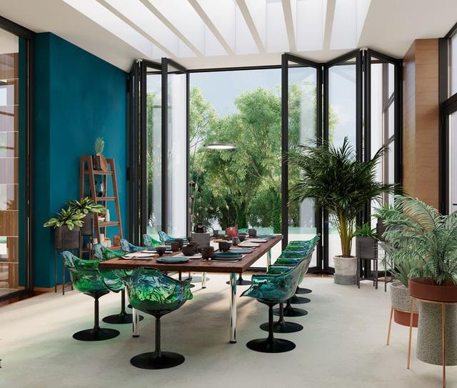 Ngôi nhà rộng rãi gây ấn tượng khi sử dụng tầng lửng làm phòng đọc - Ảnh 7.
