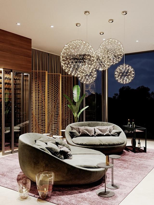 Ngôi nhà rộng rãi gây ấn tượng khi sử dụng tầng lửng làm phòng đọc - Ảnh 8.