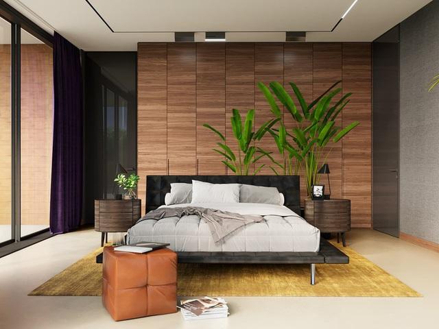 Ngôi nhà rộng rãi gây ấn tượng khi sử dụng tầng lửng làm phòng đọc - Ảnh 9.
