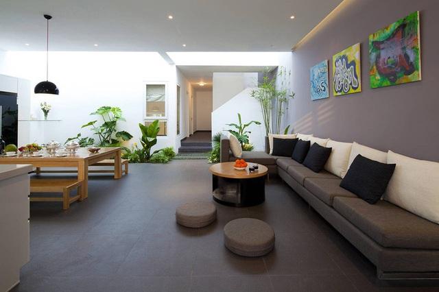 Nhà phố Sài Gòn sử dụng nội thất đơn giản đến mức tối đa để tiết kiệm chi phí nhưng vẫn đẹp mê ly - Ảnh 2.