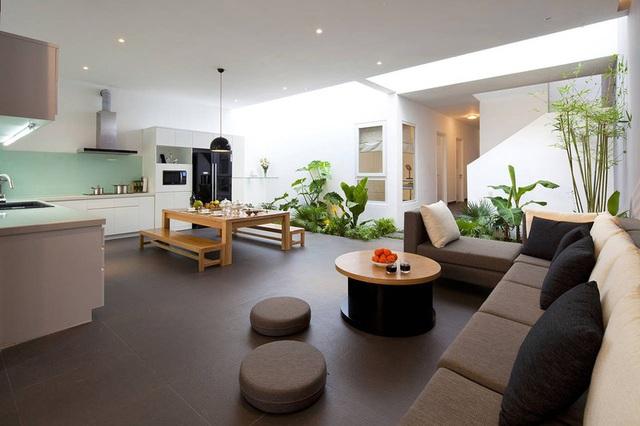 Nhà phố Sài Gòn sử dụng nội thất đơn giản đến mức tối đa để tiết kiệm chi phí nhưng vẫn đẹp mê ly - Ảnh 3.