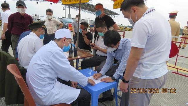 Hải Phòng kiểm soát y tế mọi trường hợp ngoại tỉnh vào địa phương - Ảnh 5.