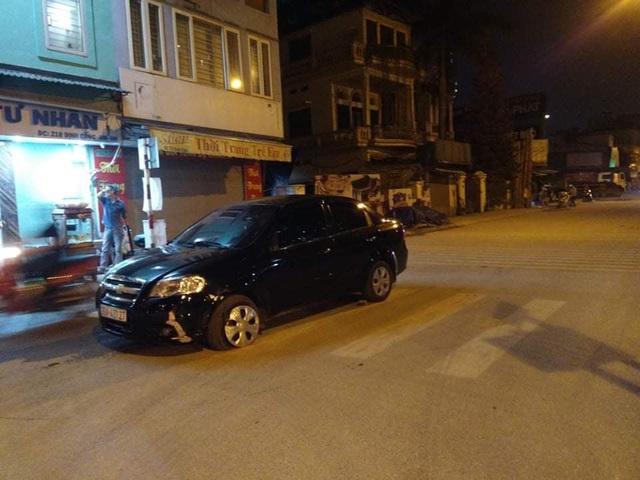 Xác định tài xế say rượu, gây tai nạn rồi bỏ chạy ở Hà Nội - Ảnh 2.