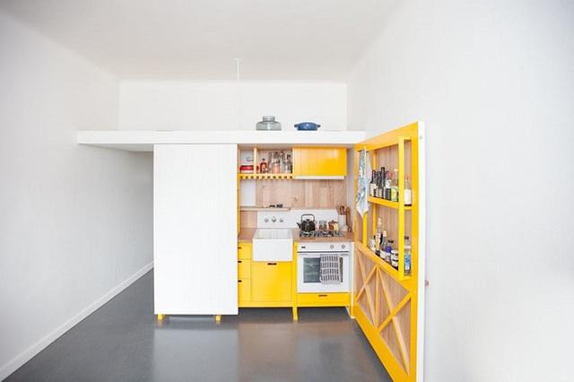 15 căn bếp nhỏ nhưng vẫn khiến người khác phải trầm trồ vì tiện nghi không thiếu thứ gì - Ảnh 3.