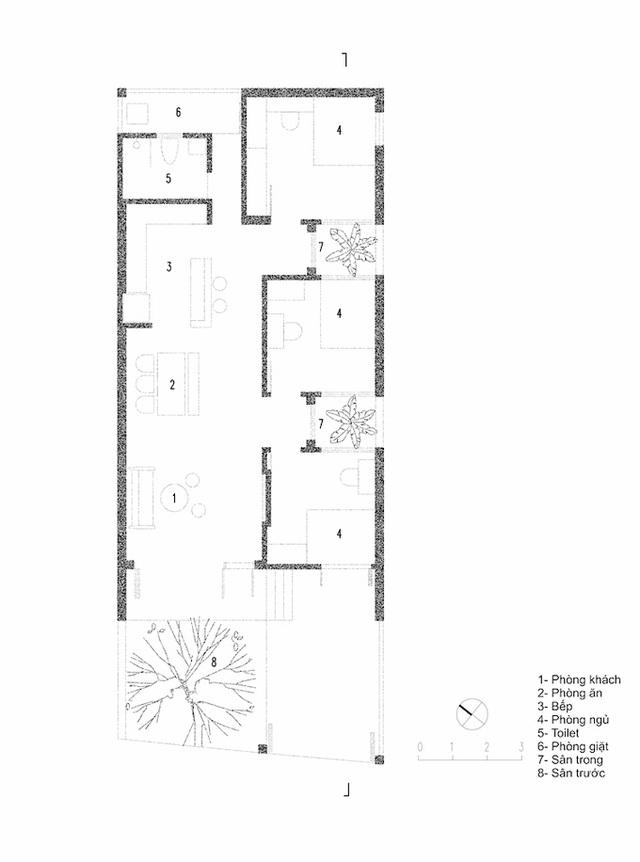 Nhà ba gian ba mái ở Nghệ An - Ảnh 14.
