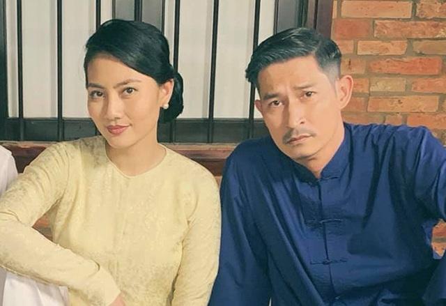 Ngọc Lan năn nỉ Huy Khánh đóng phim chung - Ảnh 1.