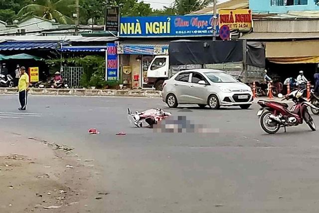 Tài xế rời xe bỏ chạy sau khi gây tai nạn chết người ở TP.HCM - Ảnh 1.