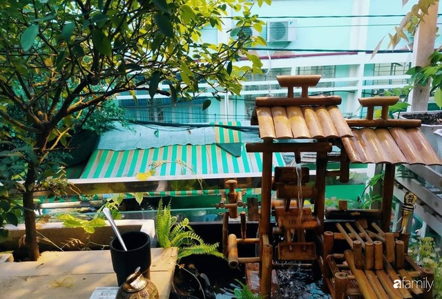 Ngôi nhà đẹp yên bình, lãng mạn nhờ người đàn ông đảm đang tự decor vườn và trồng đủ loại hồng ở Sài Gòn - Ảnh 15.