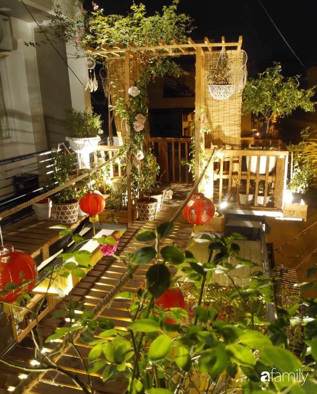 Ngôi nhà đẹp yên bình, lãng mạn nhờ người đàn ông đảm đang tự decor vườn và trồng đủ loại hồng ở Sài Gòn - Ảnh 4.