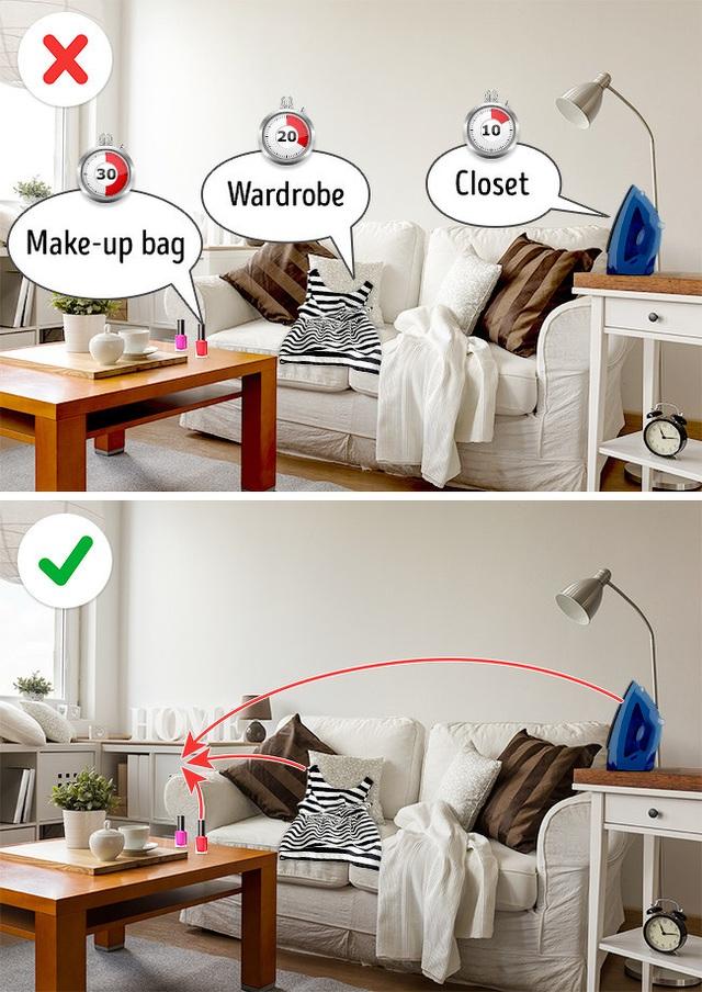5 bí mật đơn giản để sở hữu ngôi nhà lúc nào cũng sạch sẽ được tiết lộ từ chuyên gia - Ảnh 4.