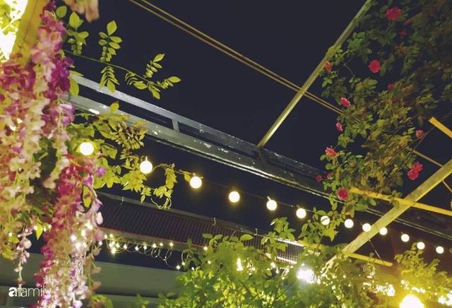 Ngôi nhà đẹp yên bình, lãng mạn nhờ người đàn ông đảm đang tự decor vườn và trồng đủ loại hồng ở Sài Gòn - Ảnh 7.