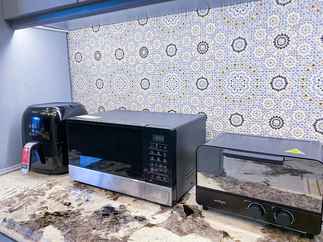 Vợ Đăng Khôi khoe trọn khu bếp đến từng chi tiết, xem tới đâu chị em mê mẩn tới đó - Ảnh 10.