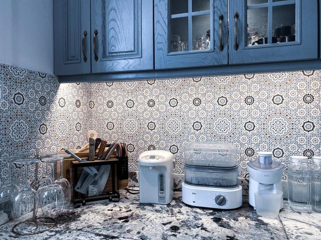 Vợ Đăng Khôi khoe trọn khu bếp đến từng chi tiết, xem tới đâu chị em mê mẩn tới đó - Ảnh 12.