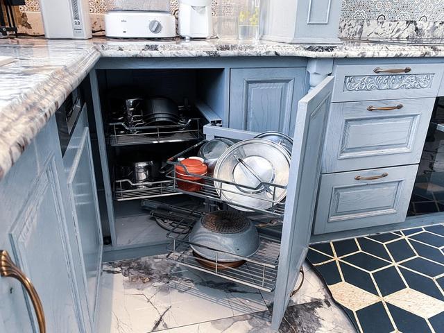 Vợ Đăng Khôi khoe trọn khu bếp đến từng chi tiết, xem tới đâu chị em mê mẩn tới đó - Ảnh 14.