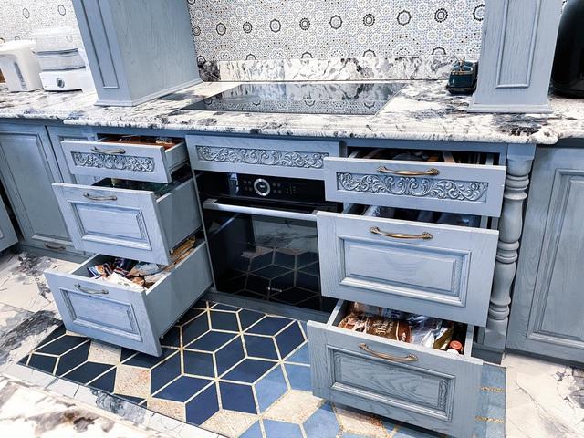 Vợ Đăng Khôi khoe trọn khu bếp đến từng chi tiết, xem tới đâu chị em mê mẩn tới đó - Ảnh 7.