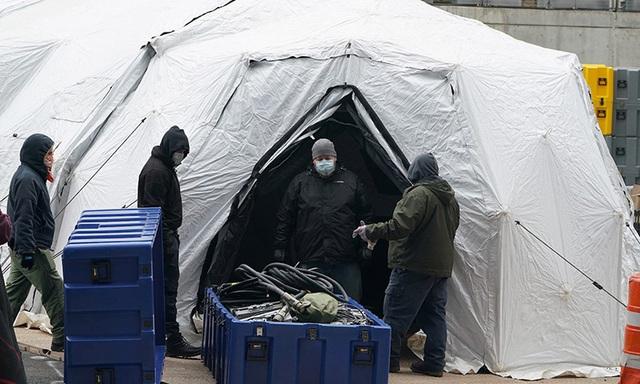 New York cấp tập dựng nhà xác dã chiến - Ảnh 2.