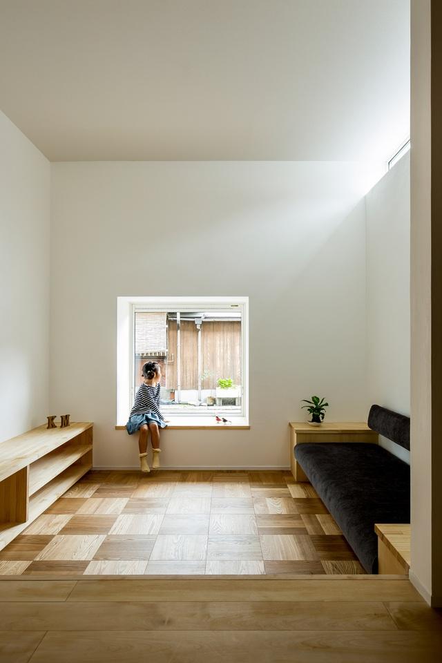 Ngôi nhà bình yên đến nao lòng với khoảng sân vườn thiết kế nghệ thuật đẹp như tranh vẽ  - Ảnh 8.