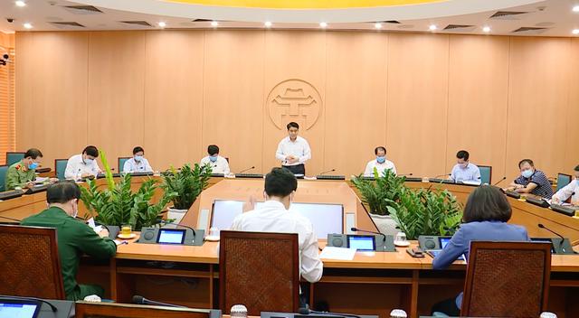 Từ 0h ngày 28/3, Hà Nội chính thức áp dụng nhiều biện pháp mạnh trong đợt dịch COVID-19 cao điểm - Ảnh 2.