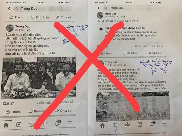 Xuyên tạc dịch COVID-19 trên Facebook, thầy giáo ở Hà Tĩnh bị phạt 10 triệu đồng - Ảnh 3.