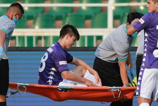 Chấn thương của cầu thủ Duy Mạnh hồi phục có dễ? - Ảnh 1.