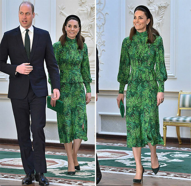 Công nương Kate quá lộng lẫy và xinh đẹp khi công du du Ireland - Ảnh 3.