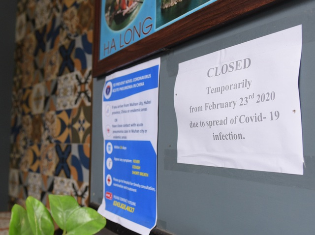 Chùm ảnh: Khách sạn đóng cửa, công ty lữ hành giảm giá kịch sàn mùa dịch COVID-19  - Ảnh 2.