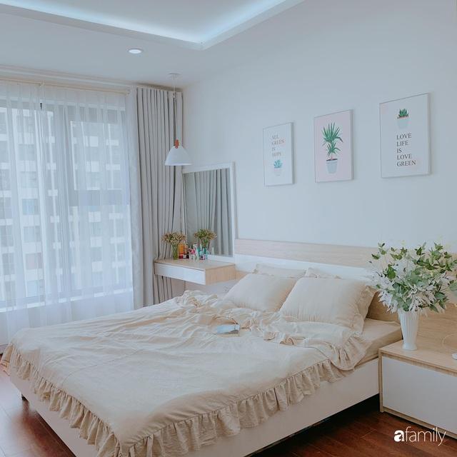 Căn hộ 90m² như được nhân đôi không gian nhờ cách decor khéo léo với sắc trắng ở Hà Nội - Ảnh 15.
