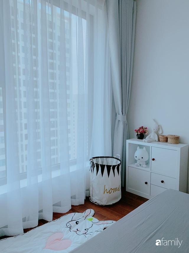 Căn hộ 90m² như được nhân đôi không gian nhờ cách decor khéo léo với sắc trắng ở Hà Nội - Ảnh 18.