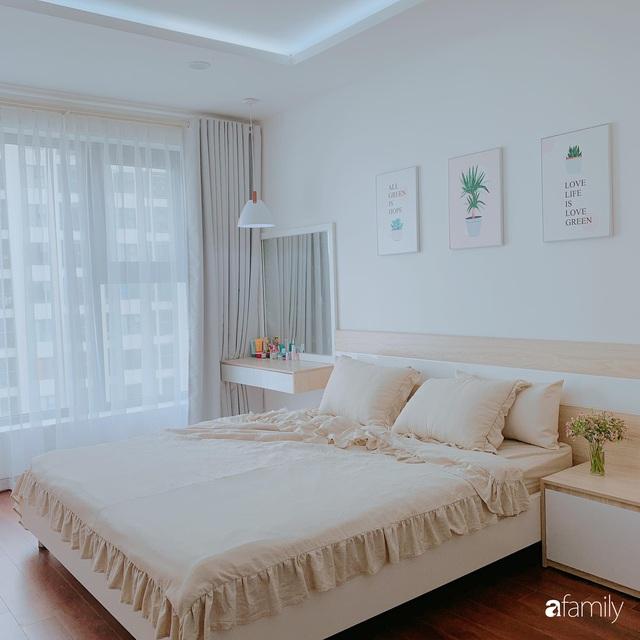 Căn hộ 90m² như được nhân đôi không gian nhờ cách decor khéo léo với sắc trắng ở Hà Nội - Ảnh 19.