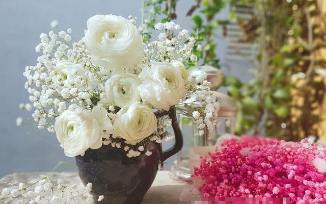 Trong khi giá hoa đang rớt thê thảm thì đây là loài hoa duy nhất hút khách rần rần dịp 8/3 - Ảnh 4.