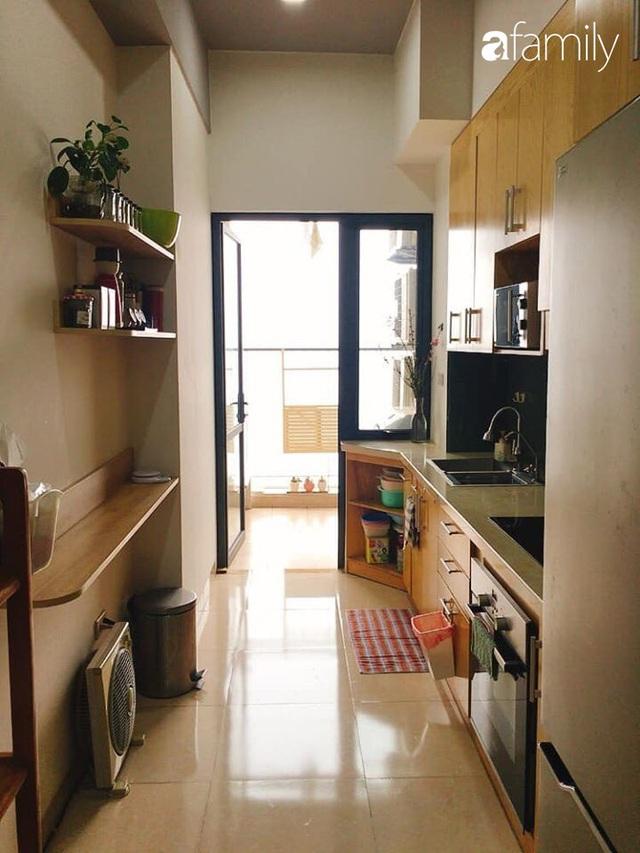 Phòng bếp chỉ rộng 6m² nhưng nhờ kinh nghiệm sắp xếp tối giản mẹ đảm ở Hà Nội vẫn khiến không gian ngăn nắp, gọn gàng - Ảnh 3.