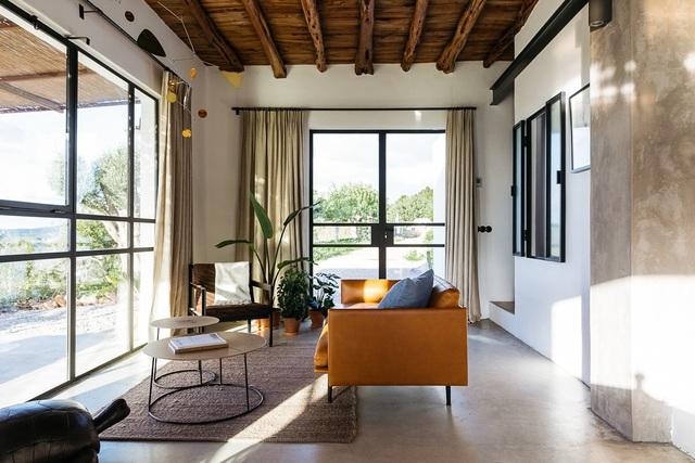 Căn nhà cấp 4  màu trắng nổi bật giữa thiên nhiên hoang sơ với cách thiết kế rất sinh động - Ảnh 16.