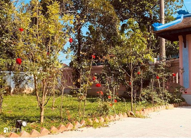 Ngôi nhà gần trăm năm tuổi bên cạnh khu vườn hoa hồng gói gọn những lặng lẽ, yên bình của xứ Huế mộng mơ - Ảnh 22.