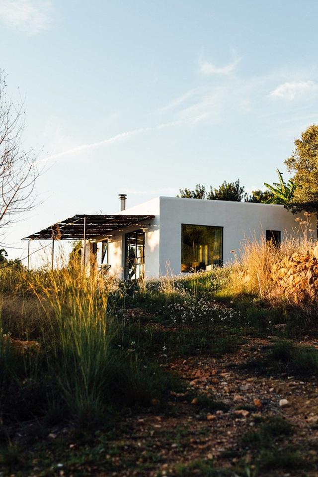 Căn nhà cấp 4  màu trắng nổi bật giữa thiên nhiên hoang sơ với cách thiết kế rất sinh động - Ảnh 8.