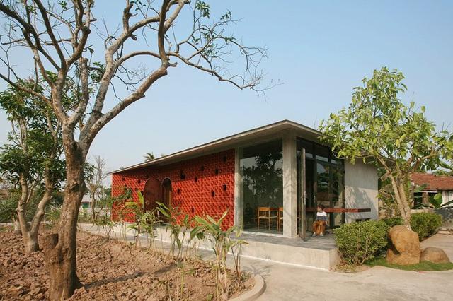 Ngôi nhà 78 m2 thiết kế hiện đại nhưng vẫn đượm hồn quê - Ảnh 1.