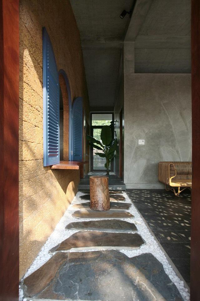 Ngôi nhà 78 m2 thiết kế hiện đại nhưng vẫn đượm hồn quê - Ảnh 10.