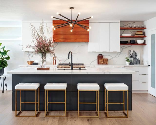 8 nhà bếp hiện đại kiểu dáng đẹp và sang trọng - Ảnh 1.