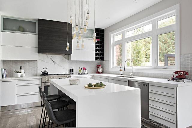 8 nhà bếp hiện đại kiểu dáng đẹp và sang trọng - Ảnh 3.