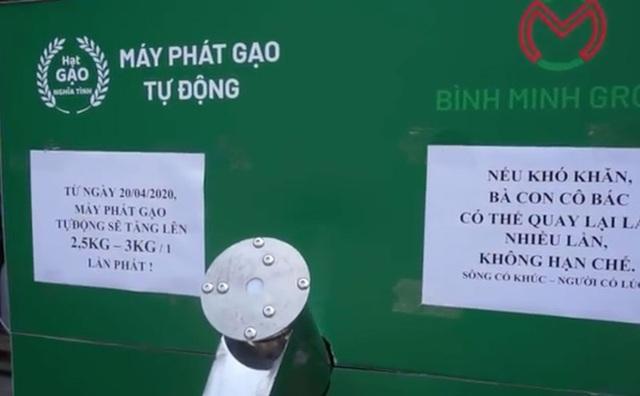 Các cây ATM gạo ở Sài Gòn... bị ế vì vắng khách - Ảnh 4.