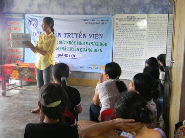 Thừa Thiên - Huế: Khởi sắc công tác dân số vùng ven biển, đầm phá, vạn đò, cửa sông - Ảnh 2.