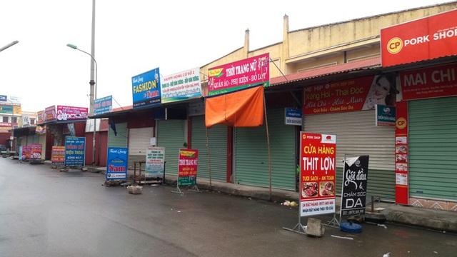 Dừng họp chợ ở Hải Dương: Nơi vẫn bán, chỗ không bóng người  - Ảnh 16.