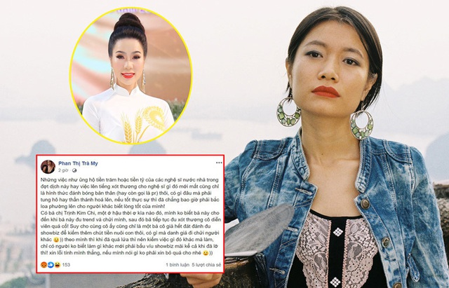 Đàm Vĩnh Hưng, Trịnh Kim Chi bức xúc trước phát ngôn sốc của diễn viên Trà My  - Ảnh 1.