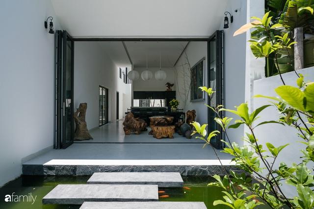 Ngôi nhà nhỏ được thiết kế theo phong cách nhà cổ Hội An đẹp bình yên dưới bóng cây xanh - Ảnh 14.