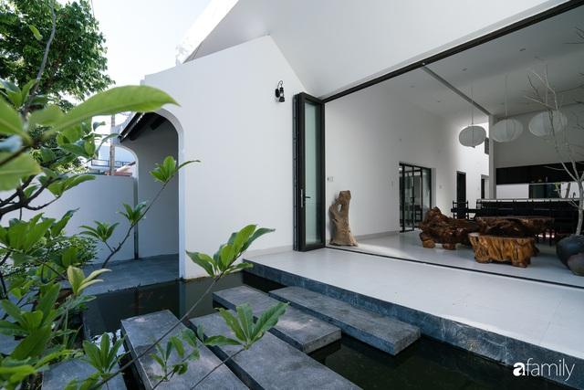Ngôi nhà nhỏ được thiết kế theo phong cách nhà cổ Hội An đẹp bình yên dưới bóng cây xanh - Ảnh 15.