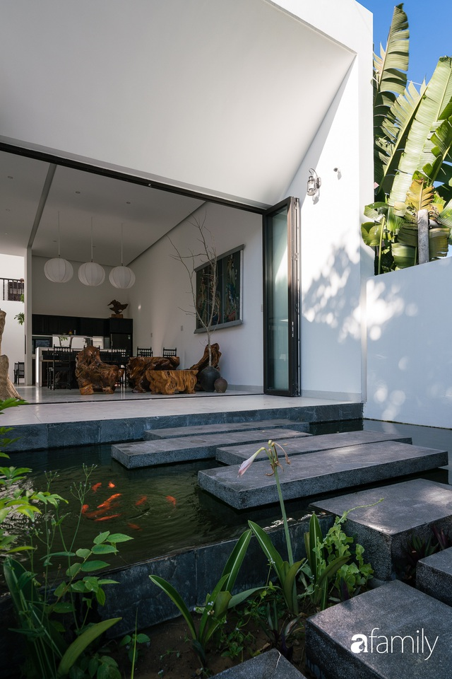Ngôi nhà nhỏ được thiết kế theo phong cách nhà cổ Hội An đẹp bình yên dưới bóng cây xanh - Ảnh 16.