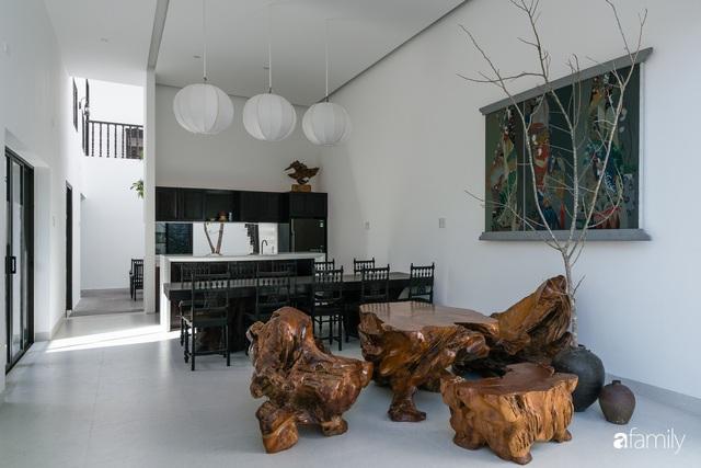 Ngôi nhà nhỏ được thiết kế theo phong cách nhà cổ Hội An đẹp bình yên dưới bóng cây xanh - Ảnh 18.