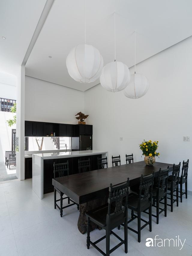 Ngôi nhà nhỏ được thiết kế theo phong cách nhà cổ Hội An đẹp bình yên dưới bóng cây xanh - Ảnh 19.