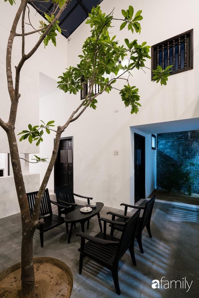 Ngôi nhà nhỏ được thiết kế theo phong cách nhà cổ Hội An đẹp bình yên dưới bóng cây xanh - Ảnh 21.