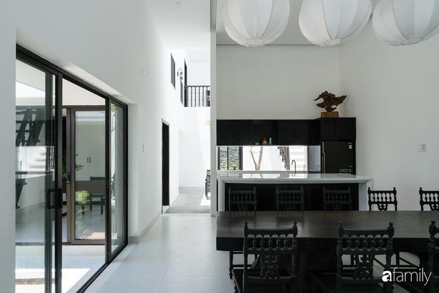 Ngôi nhà nhỏ được thiết kế theo phong cách nhà cổ Hội An đẹp bình yên dưới bóng cây xanh - Ảnh 27.