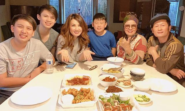 Vợ cũ Bằng Kiều nói điều tốt đẹp và thường xuyên đưa con đến gặp chồng cũ, thăm bà nội trong mùa dịch - Ảnh 3.